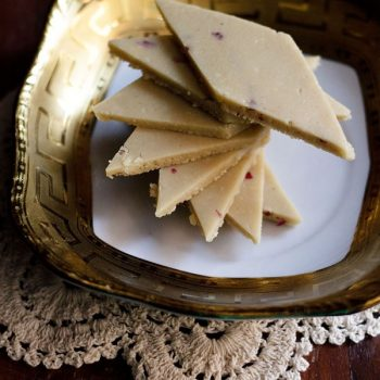 perfect kaju katli (cashew fudge)