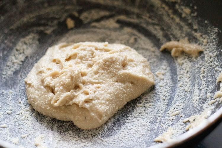 cashew dough prepared