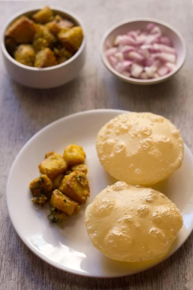 luchi recipe, Bengali luchi recipe