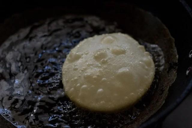 frying - luchi recipe