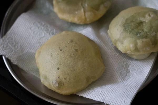 koraishutir kochuri recipe, motor shutir kochuri recipe