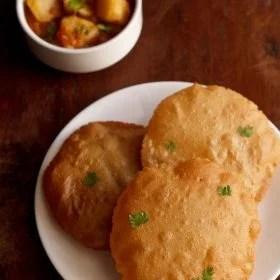 rajgira poori recipe