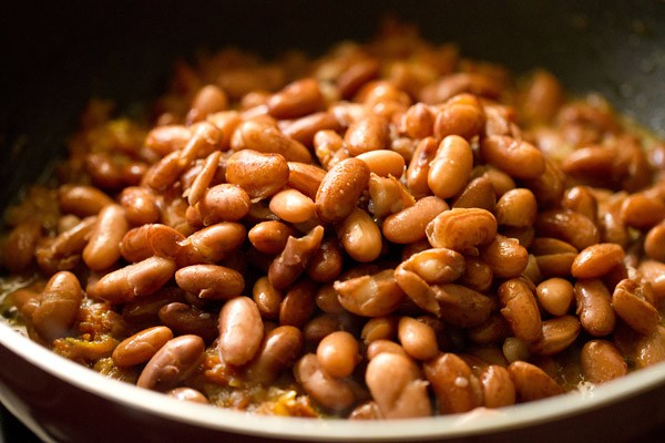 making rajma recipe