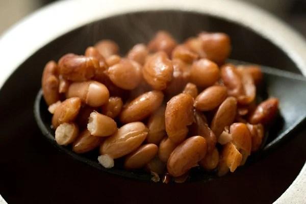 cooked rajma beans