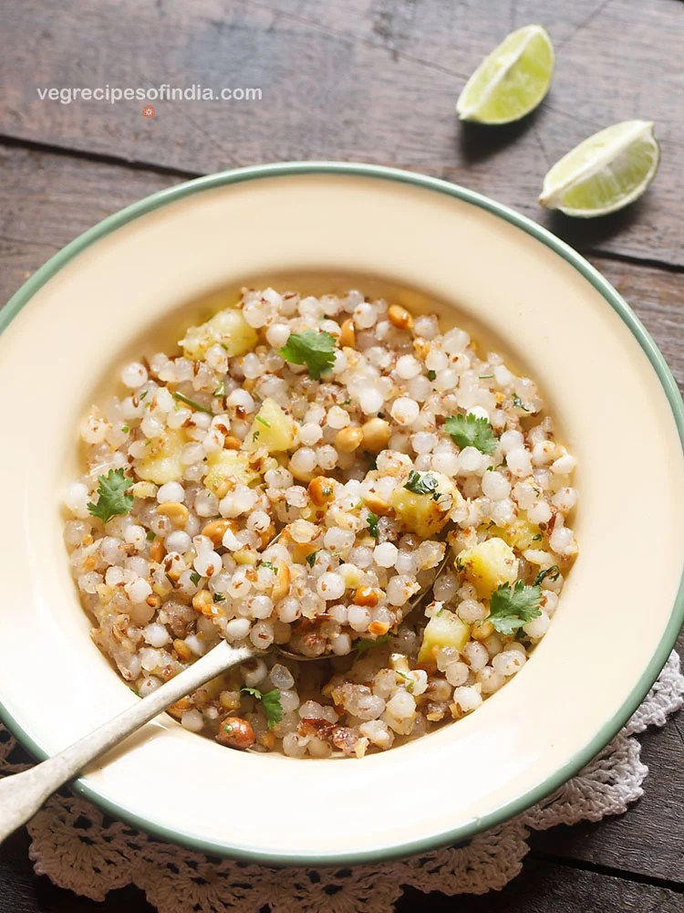 sabudana khichdi recipe for Ekadashi, Navratri