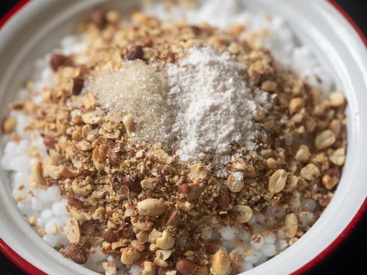 adding salt to sabudana
