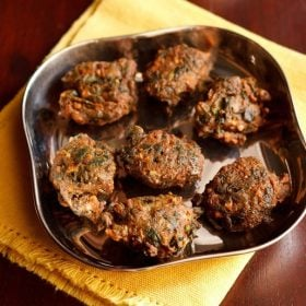 palak pakora recipe for navratri fasting or vrat