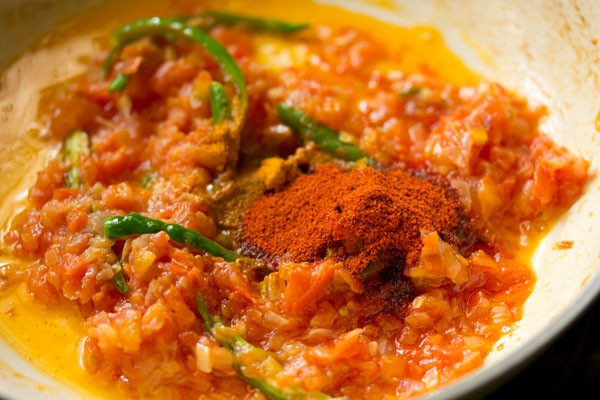 making chole masala recipe