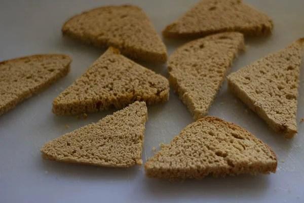 bread pieces for cheese chilli toast recipe