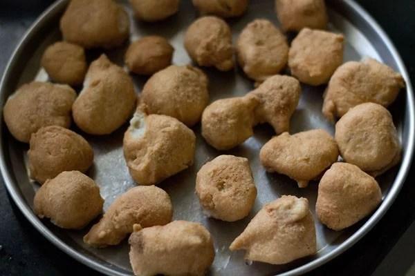 preparing dahi vada recipe
