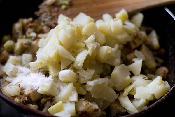 making punjabi samosa recipe