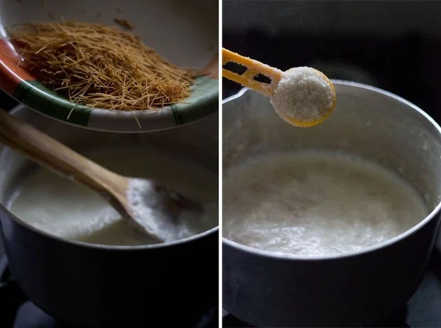making sheer khurma recipe