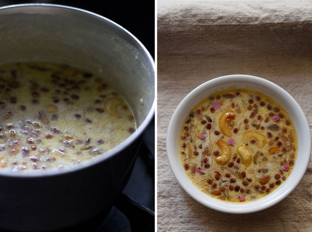 sheer khurma recipe, sheer korma recipe