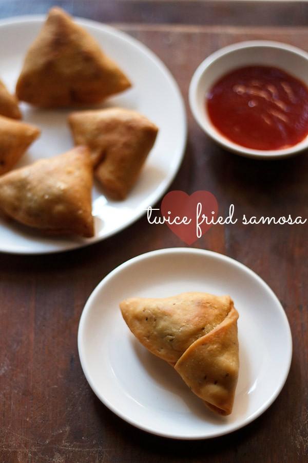 fried samosa recipe