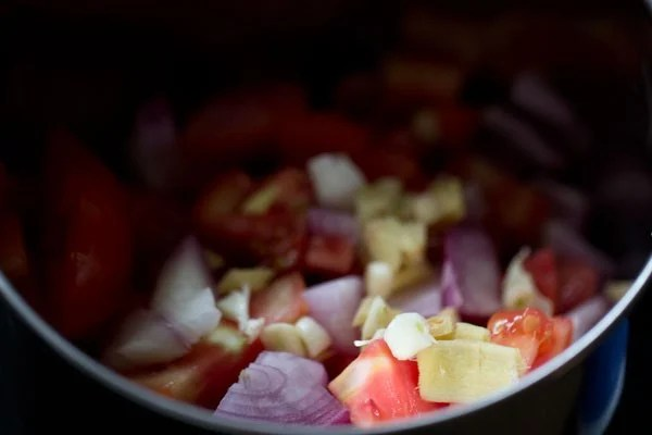 onions for aloo matar recipe