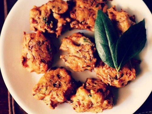 cabbage vada recipe