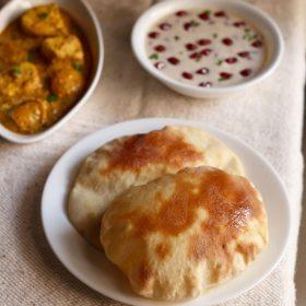 naan bread recipe, naan recipe with yeast
