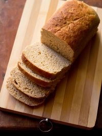 wheat bread recipe | atta bread recipe | 100% whole wheat bread