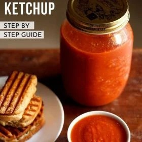 tomato sauce, tomato ketchup
