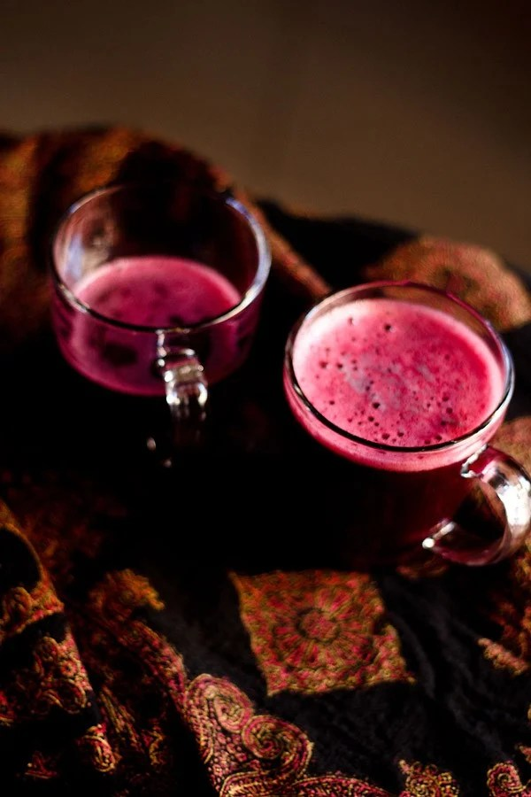 black grapes juice recipe, black grapes juice