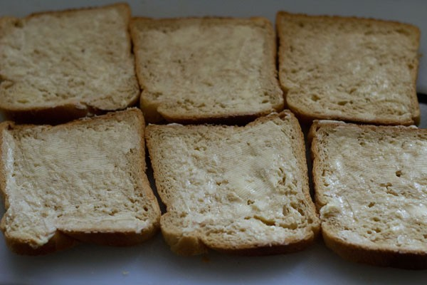 butter for making cheese sandwich recipe