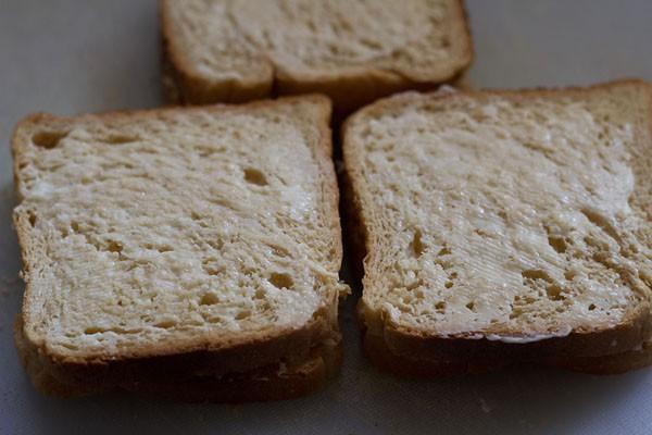 making cheese sandwich recipe