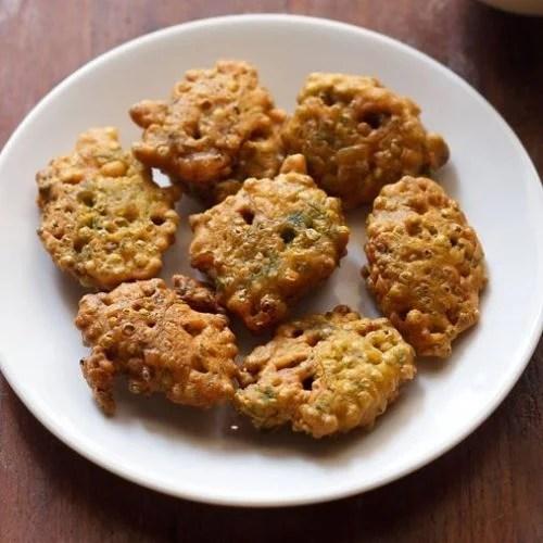 hurda bhajji recipe, hurda pakora recipe