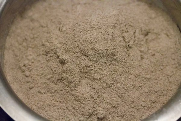 ragi flour added