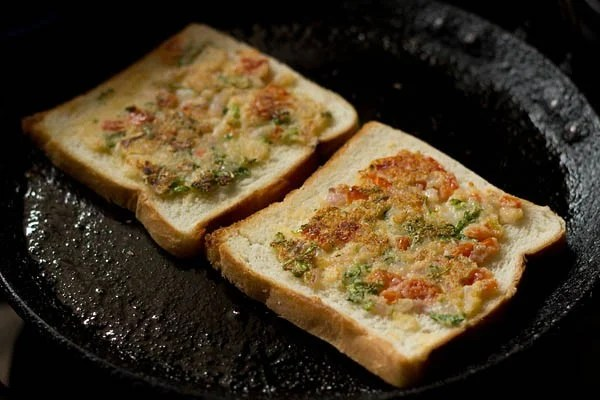 making rava toast recipe