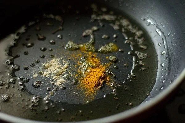 spices for maharashtrian amti dal recipe