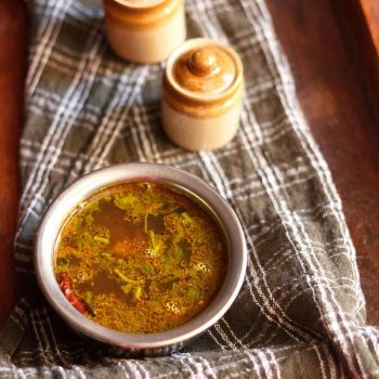 Easy Rasam Recipe (Without Rasam Powder and Lentils)