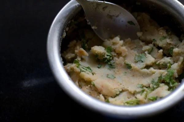 mashed potatoes for making potato sandwich recipe