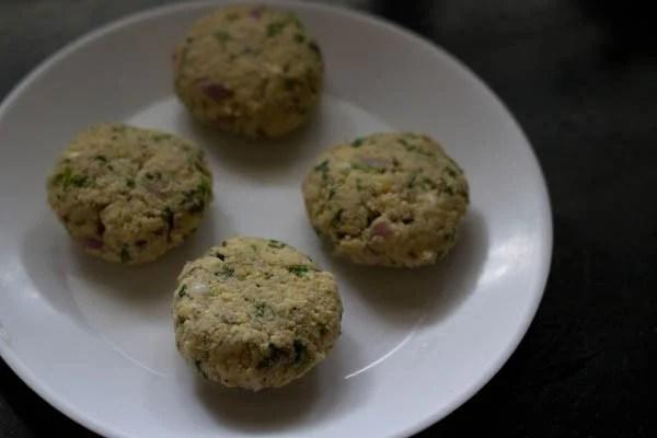 mixture for chickpea vada recipe