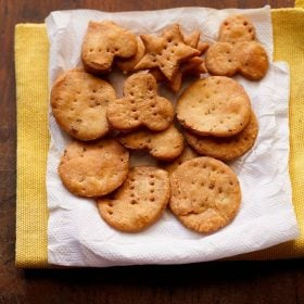 fried papdi recipe, papdi recipe, baked papdi recipe