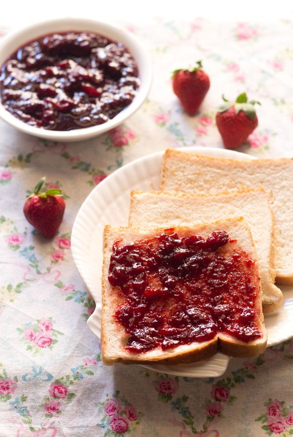 strawberry jam recipe, strawberry recipes