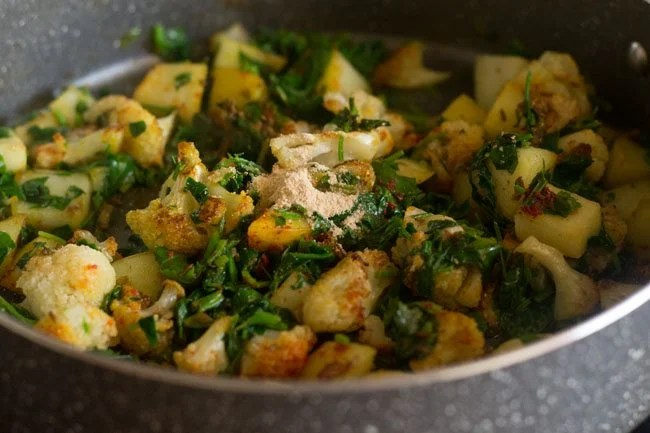 aloo gobi methi tuk recipe