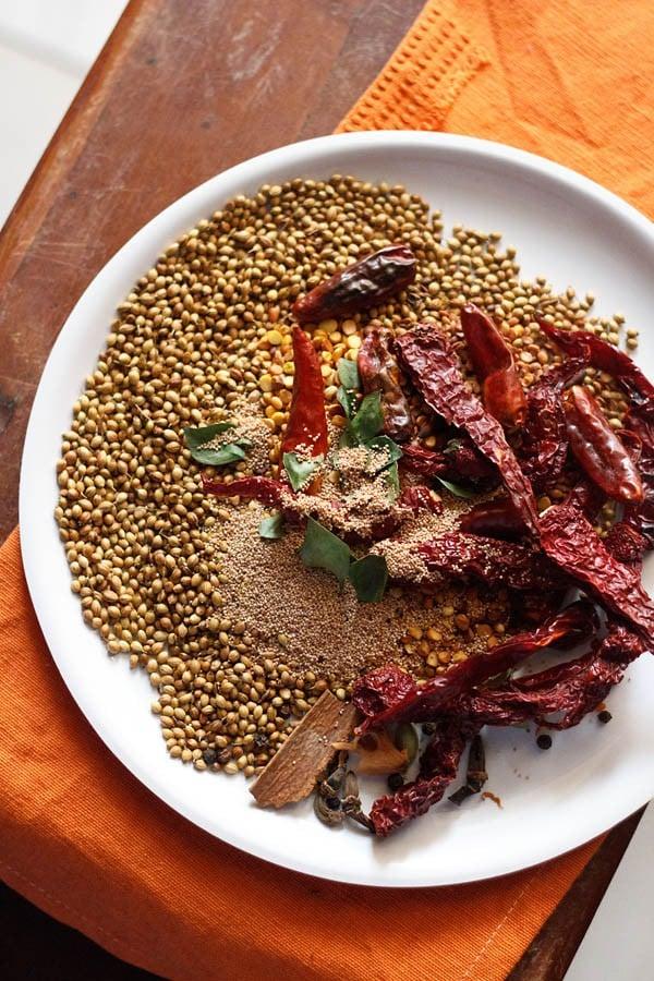 bise bele bath masala spices