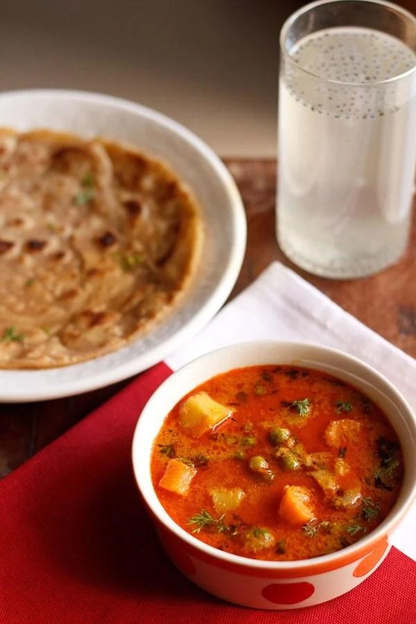 mix veg kurma recipe, vegetable korma recipe, korma recipe