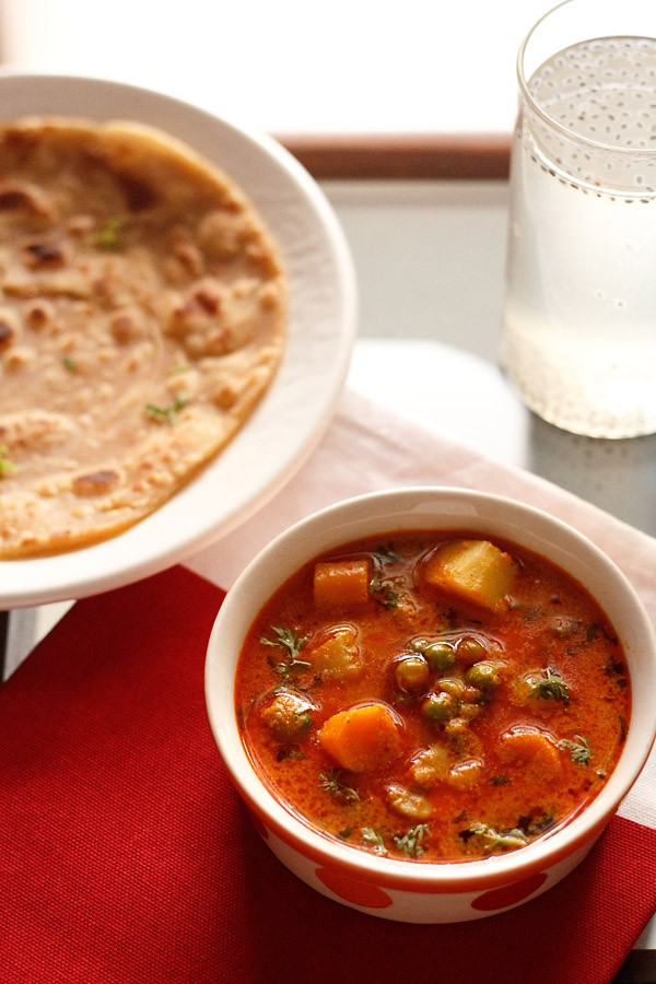 mix veg kurma recipe, vegetable korma recipe
