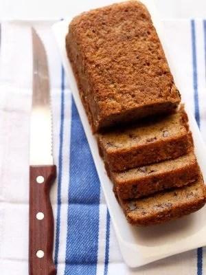 eggless banana cake recipe, banana cake recipe