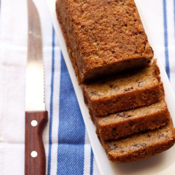 Whole Wheat Banana Cake (Eggless and Vegan)