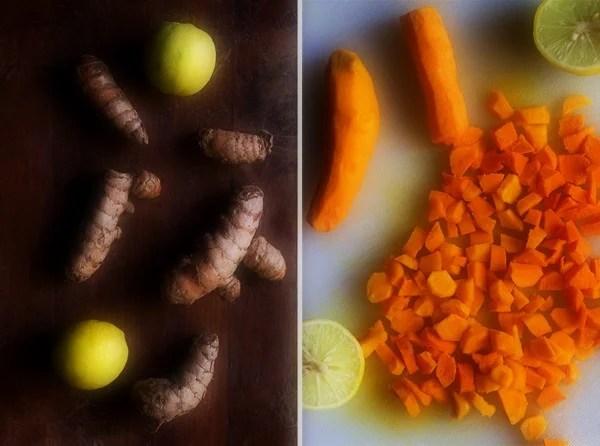 making turmeric pickle recipe