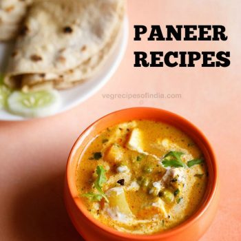88 delicious paneer recipes