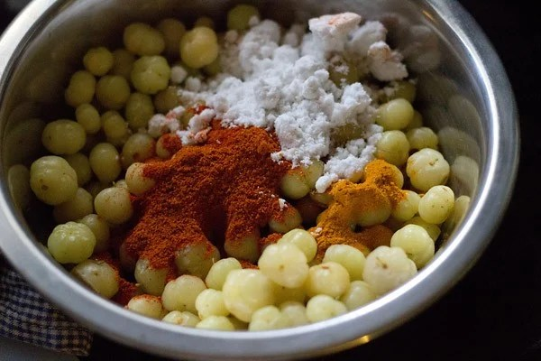 salt for gooseberrypickle recipe