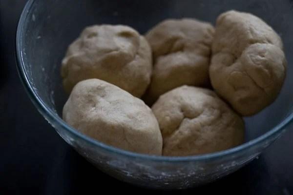 dough balls to make calzone recipe