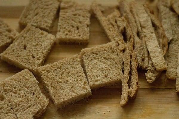 bread slices to make shahi tukda recipe