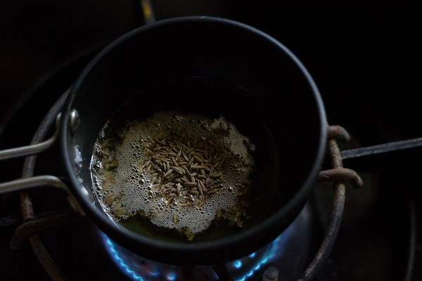 making jeera rice recipe