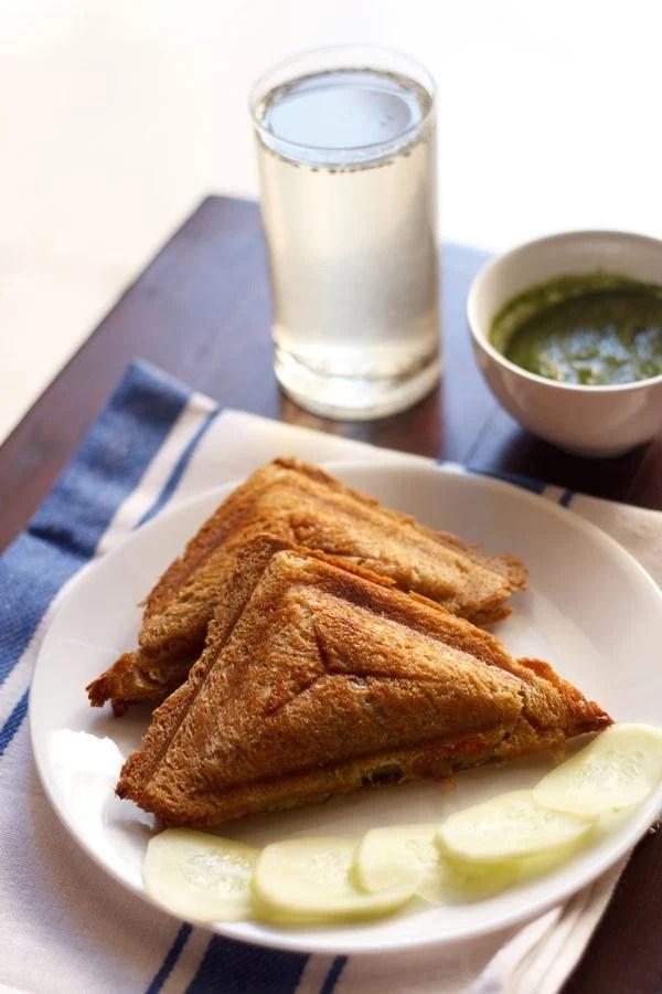veg cheese toast sandwich recipe