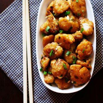 Gobi Manchurian – 2 Ways Cauliflower Manchurian (Dry and Gravy)