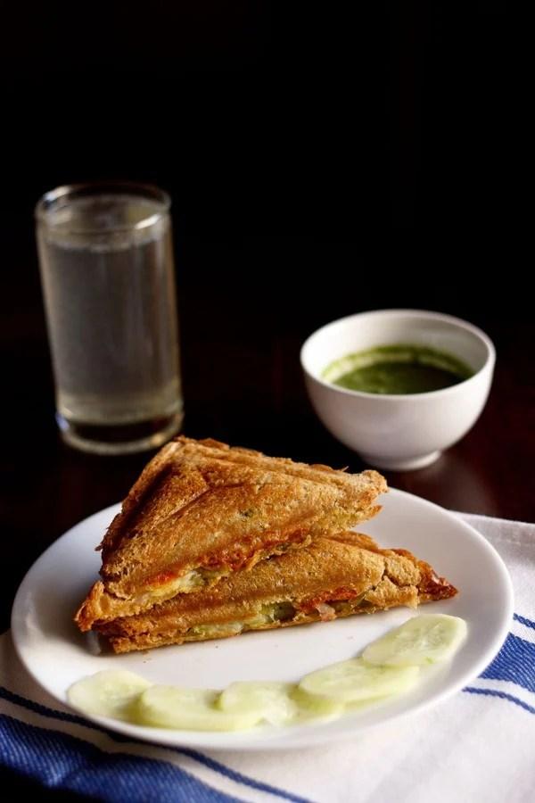 veg cheese sandwich, veg cheese toast sandwich
